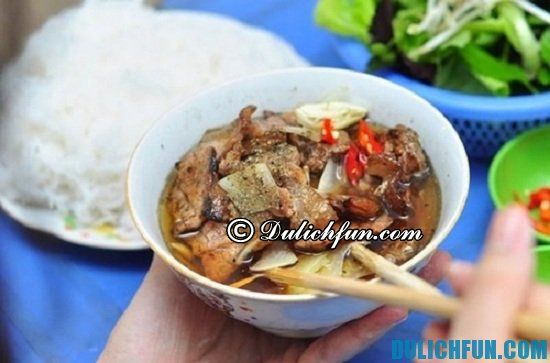 TOP những quán bún chả ngon ở Hà Nội: Địa chỉ ăn bún chả nổi tiếng Hà Nội