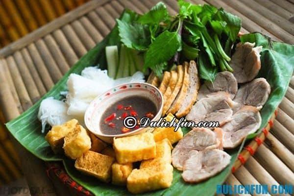 Quán bún đậu mắm tôm ngon nhất ở Hà Nội