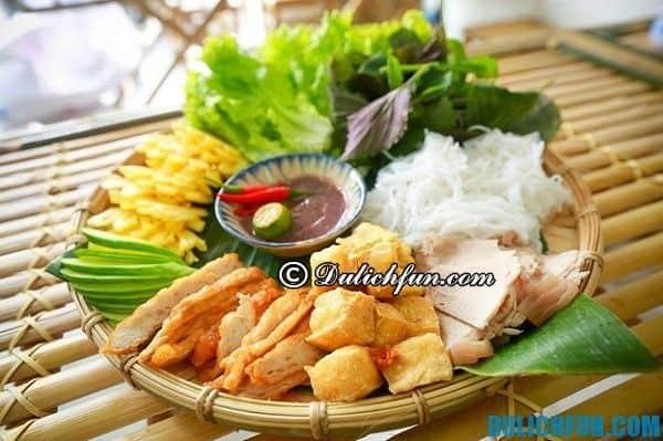 Các quán bún đậu ngon, nổi tiếng ở Hà Nội: Địa điểm ăn bún đậu mắm tôm ngon nhất ở Hà Nội