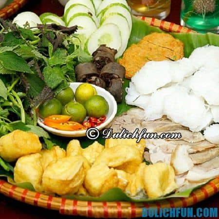 Địa chỉ ăn bún đậu mắm tôm ngon, giá bình dân ở Hà Nội