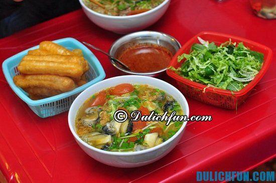 Quán bún ốc ngon ở Hà Nội: Ăn bún ốc ở đâu Hà Nội ngon, giá rẻ