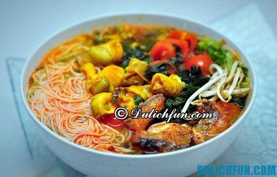 Bún ốc ngon ở Hà Nội: Địa chỉ ăn bún ốc ngon nổi tiếng ở Hà Nội
