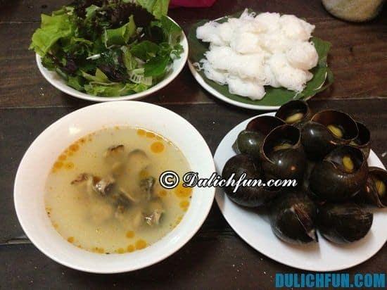 Những quán bún ốc nổi tiếng ở Hà Nội: Địa chỉ ăn bún ốc vừa ngon vừa rẻ ở Hà Nội