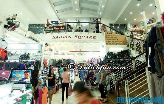 Những địa điểm mua sắm ở Sài Gòn bạn không nên bỏ lỡ