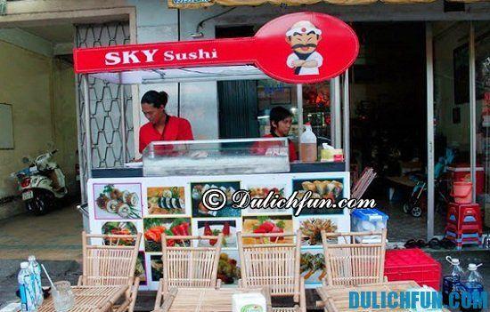 Điểm tên những nhà hàng, quán ăn Nhật ngon, hút khách nhất Sài Gòn. Thiên Du Sky Sushi, địa chỉ quán ăn Nhật giá rẻ, bình dân ở Sài Gòn, ăn đồ Nhật ở đâu Sài Gòn ngon, bổ, rẻ