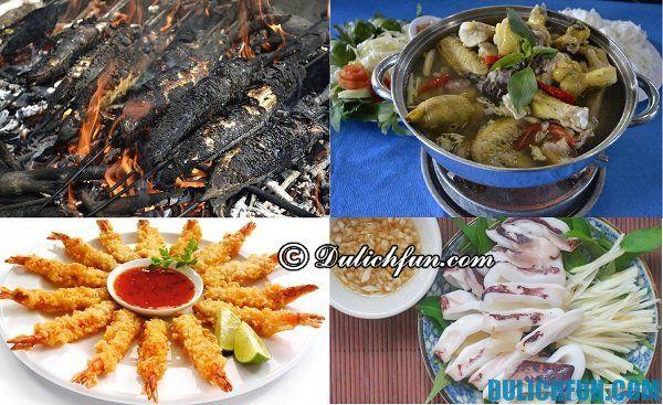 Ăn gì ở khu du lịch Vinh Sang ngon, bổ, rẻ: Tư vấn ăn uống khi đi du lịch sinh thái Vinh Sang