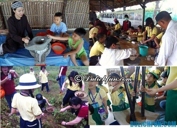 Các trò chơi cho trẻ em trong khu du lịch BCR: Hoạt động vui chơi, giải trí hấp dẫn ở khu du lịch BCR
