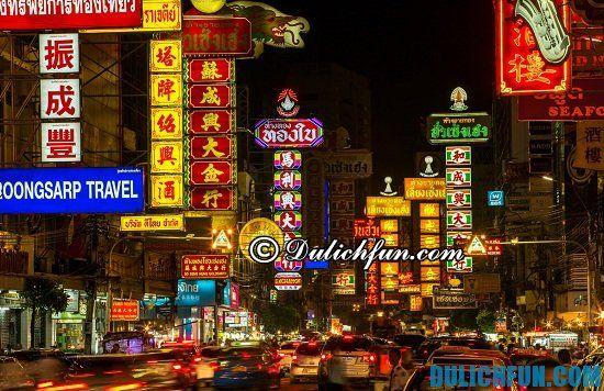 Đi đâu, chơi gì khi du lịch Bangkok? China Town, địa điểm tham quan không thể bỏ lỡ khi du lịch Bangkok