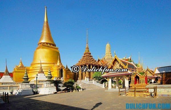Thái Lan - điểm du lịch nổi tiếng ở Đông Nam Á