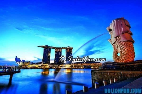Singapore - thiên đường mua sắm, nghỉ dưỡng