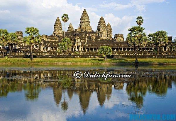 Du lịch Campuchia - xứ sở chùa tháp