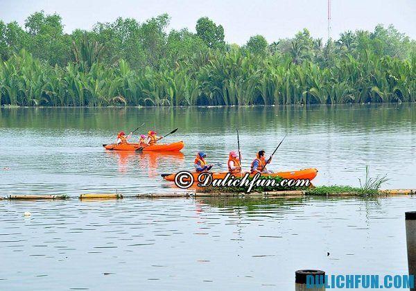 Khu du lịch BCR có gì vui? Những trò chơi dưới nước hấp dẫn nhất trong khu du lịch BCR, Sài Gòn