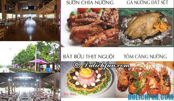 Kinh nghiệm ăn uống ở khu du lịch BCR: Ăn gì khi đến khu du lịch BCR