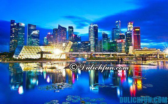 Chia sẻ kinh nghiệm du lịch Singapore 3 ngày 2 đêm vui vẻ. Hướng dẫn du lịch Singapore tự túc và gợi ý lịch trình du lịch 3 ngày 2 đêm