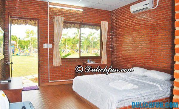Nghỉ qua đêm ở đâu trong khu du lịch BCR và giá phòng chi tiết: Khách sạn, nhà nghỉ trong khu du lịch BCR