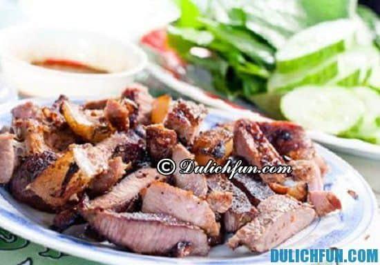 Ăn gì khi du lịch Quảng Trị? Thịt trâu lá trơn, món ăn ngon, đặc sản nổi tiếng nhất ở Quảng Trị