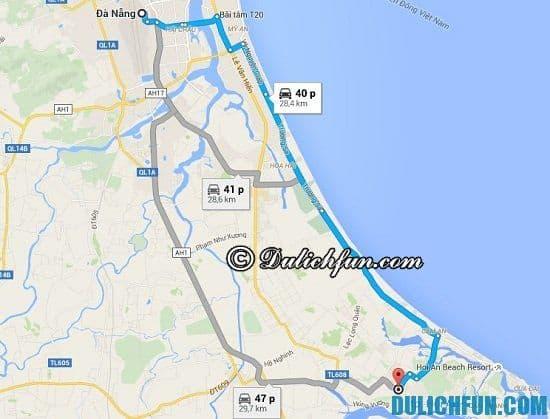 Từ Đà Nẵng đến Hội An đi đường nào nhanh nhất, an toàn nhất? Hướng dẫn cách đi từ Đà Nẵng tới Hội An