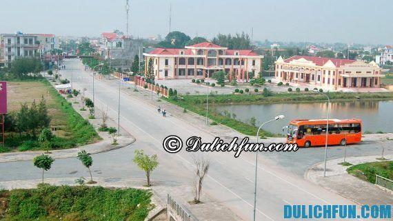 Cách di chuyển từ Hà Nội tới Quất Lâm, du lịch biển Quất Lâm bằng phương tiện gì nhanh, giá rẻ?