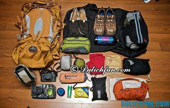 Du lịch Đà Lạt bằng xe máy cần chuẩn bị những gì? Chuẩn bị hành lý, những vật dụng cần thiết khi phượt Đà Lạt bằng xe máy