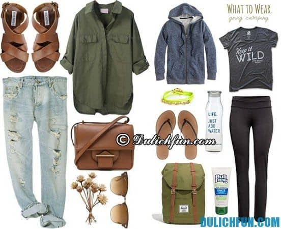 Nên mặc gì khi đi du lịch? Lựa chọn trang phục khi đi du lịch, tham quan