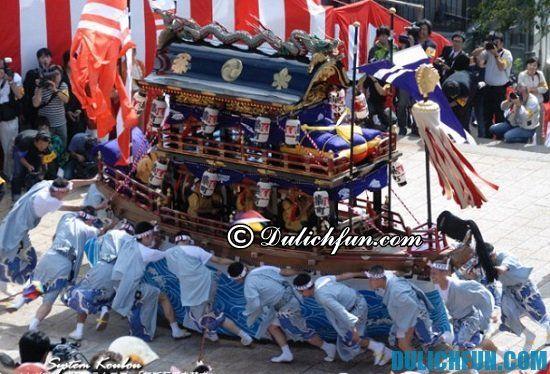 Đi du lịch Nhật Bản vào tháng 10 có gì? Một số lễ hội lớn, đặc sắc ở Nhật Bản tháng 10