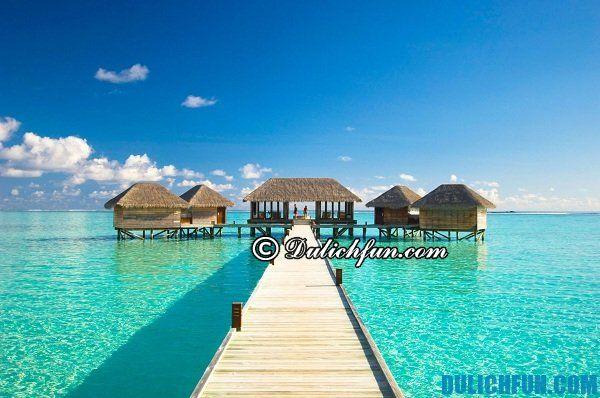 Maldives - điểm du lịch hấp dẫn ở châu Á