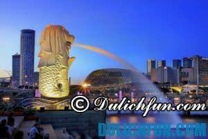 Du lịch Singapore mùa nào đẹp nhất? Một số lưu ý chung