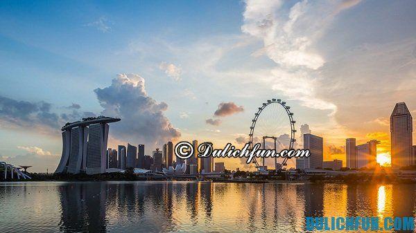 Thời điểm lí tưởng đi du lịch Singapore, nên đi du lịch Singapore vào tháng mấy?