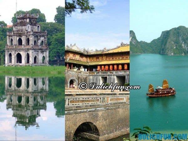 Một số lưu ý khi du lịch xuyên Việt, du lịch xuyên Việt nên đi đâu?