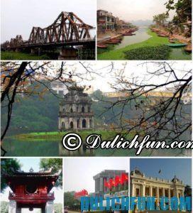 Gợi ý lịch trình du lịch Hà Nội 1 ngày đáng nhớ, cực thú vị
