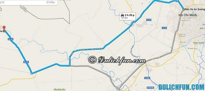 Cách di chuyển tới làng nổi Tân Lập, du lịch làng nổi Tân Lập như thế nào?