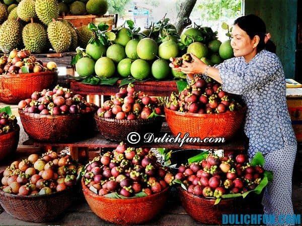 Đi du lịch vườn trái cây Lái Thiêu vào mùa nào? Mùa hoa quả chín ở vườn trái cây Lái Thiêu