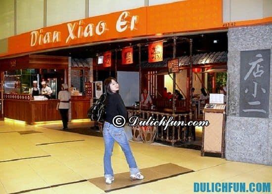 Khám phá những nhà hàng, quán ăn ngon ở sân bay Changi. Dian Xiao Er, địa chỉ nhà hàng, quán ăn ngon, nổi tiếng ở sân bay Changi không nên bỏ lỡ