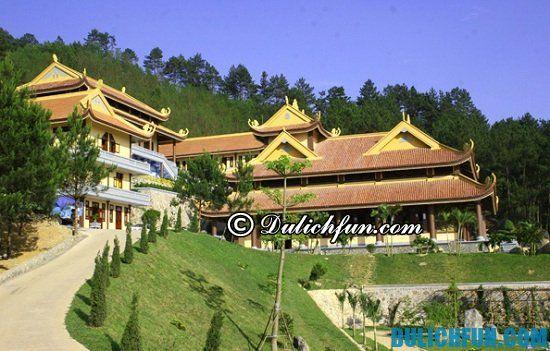 Các địa điểm du lịch đẹp, hấp dẫn và thú vị ở Vĩnh Phúc. Thiền Viện Trúc Lâm Tây Thiên, địa điểm du lịch đẹp nhất ở Vĩnh Phúc