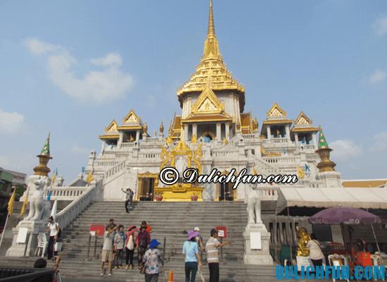 Trải nghiệm tour du lịch Thái Lan trong 5 ngày tại chùa Phật Vàng