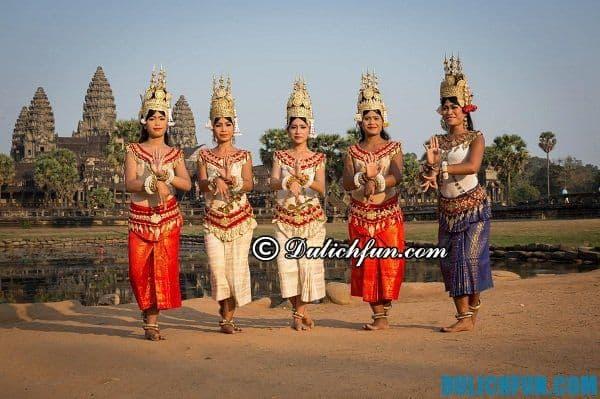 Đi Campuchia mùa nào đẹp nhất?