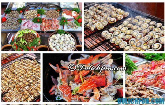 Điểm tên các quán ăn hải sản ngon, giá rẻ ở Nha Trang. Hải sản bình dân Nhà Tôi, quán ăn hải sản nổi tiếng ở Nha Trang