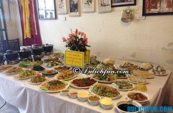 Nhà hàng ăn chay ngon ở Hà Nội