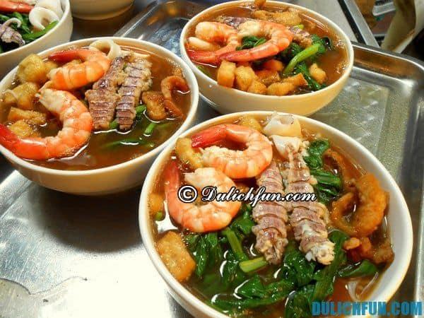 Quán bún thái hải sản ngon ở Hà Nội