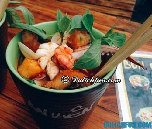 Địa chỉ ăn bún thái hải sản ngon ở Hà Nội