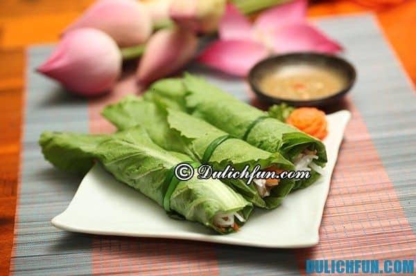 Quán ăn chay ngon ở Sài Gòn