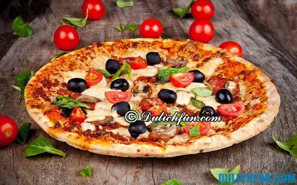 Quán pizza ngon ở Hà Nội