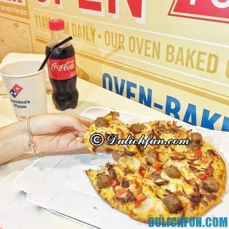 Domino's Pizza, Tô Hiến Thành - địa chỉ đông khách ở Hà Nội