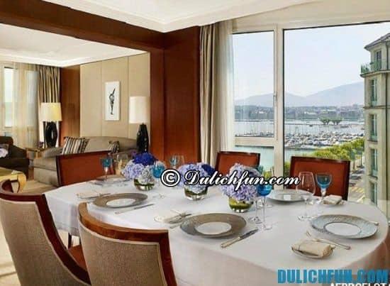Bayview Michel Roth, địa chỉ nhà hàng, quan ăn ngon, nổi tiếng ở Geneva - Kinh nghiệm du lịch Geneva