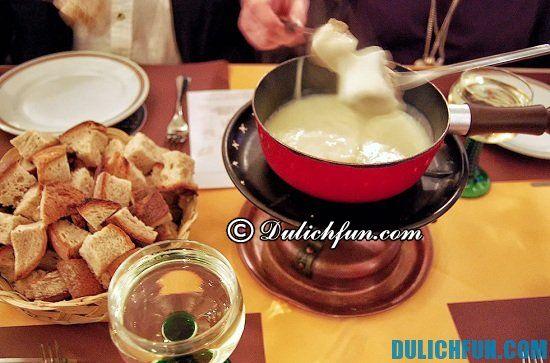 Du lịch Geneva nên ăn gì? Cheese fondue - Lẩu phô mai, món ăn đặc sản nổi tiếng ở Geneva