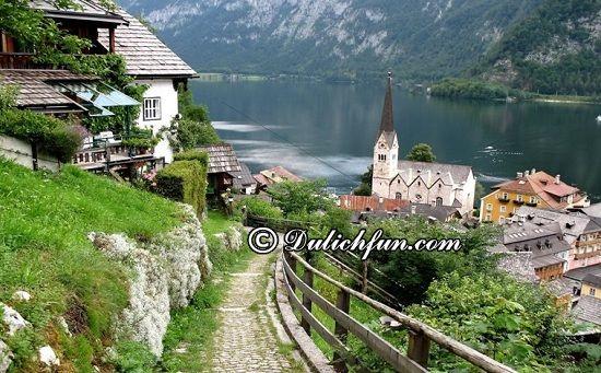 Đi đâu, chơi gì khi du lịch Áo? Hallstatt, địa điểm tham quan, du lịch tuyệt vời ở Áo - kinh nghiệm du lịch Áo