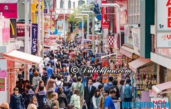 Du lịch Tokyo nên mua gì, ở đâu? Harajuku, địa điểm mua sắm giá rẻ, chất lượng ở Tokyo