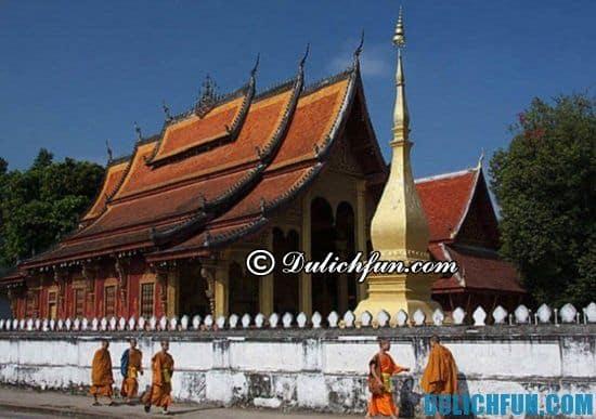 Du lịch Lào có gì thú vị? Luang Prabang, địa điểm tham quan, du lịch nổi tiếng ở Lào