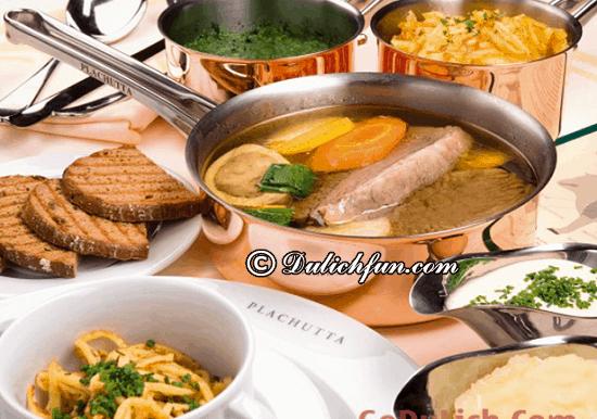 Ăn gì khi du lịch Áo? Tafelspitz, món ăn ngon, đặc sản nổi tiếng ở Áo - kinh nghiệm du lịch Áo