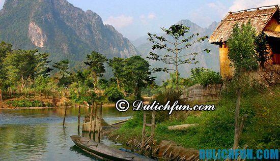 Đi đâu, chơi gì khi du lịch Lào? Vang Vieng, địa điểm du lịch nổi tiếng ở Lào